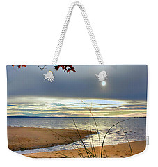 Autumn Sunrise On The James Weekender Tote Bag