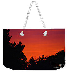 Autumn Sunrise Weekender Tote Bag