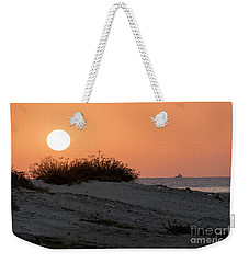 Weekender Tote Bag featuring the photograph Autumn Sunset by Arik Baltinester