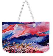 Autumn Sunset In The Sky Weekender Tote Bag