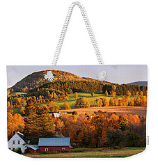 Autumn Sunset Landscape Weekender Tote Bag