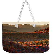 Autumn Tapestry Weekender Tote Bag