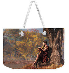 Autumn Thoughts Weekender Tote Bag by Daniel Eskridge