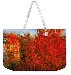 Weekender Tote Bag featuring the photograph Autumn Time by Vladimir Kholostykh