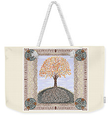 Autumn Tree Of Life Weekender Tote Bag