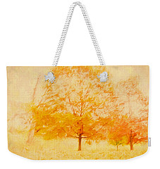 Autumn Trees Abstract Weekender Tote Bag
