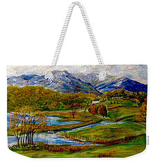 Autumn View Of The Trossachs Weekender Tote Bag