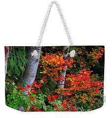 Autumn Vine Maples Weekender Tote Bag