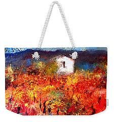 Autumn Vineyard Weekender Tote Bag