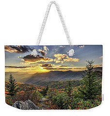 Autumn Warmth Blue Ridge Moutains Weekender Tote Bag
