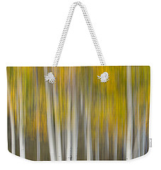 Weekender Tote Bag featuring the photograph Autumn Was A Blur by Patricia Davidson