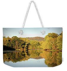 Autumn Water Weekender Tote Bag