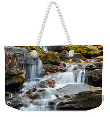 Autumn Waterfall Weekender Tote Bag by Shelby  Young