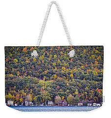 Autumn Waterside Weekender Tote Bag