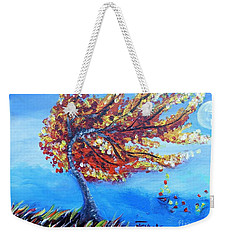 Autumn Whisper Weekender Tote Bag