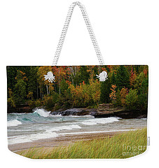Autumn Winds And Color Weekender Tote Bag by Rachel Cohen