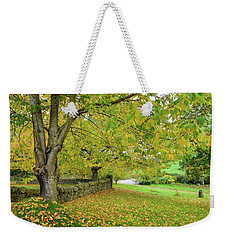 Autumn Wonderland Weekender Tote Bag
