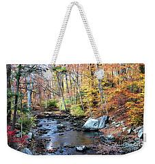 Autumn Woodlands Weekender Tote Bag