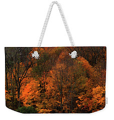 Autumn Woods Weekender Tote Bag