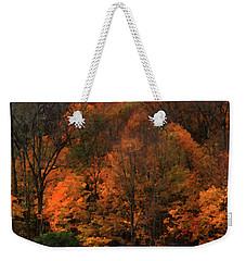 Autumn Woods Weekender Tote Bag