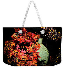 Thanksgiving Wreath Weekender Tote Bag