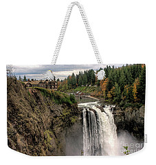 Autumnal Falls Weekender Tote Bag by Chris Anderson