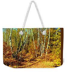Autumnal Forest Weekender Tote Bag