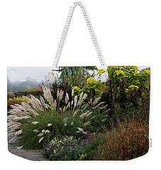 Autumnal Misty Mood Lll Weekender Tote Bag by Shirley Mitchell