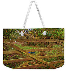 Weekender Tote Bag featuring the photograph Autumnal Orchard by Anne Kotan