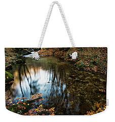 Autumnal Pond  Weekender Tote Bag by Yuri Santin