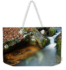 Autumnal Stream Weekender Tote Bag by Yuri Santin