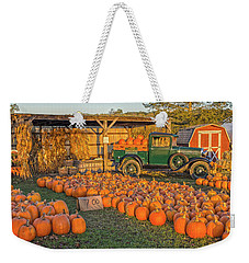 Autumnal Sunrise At Roe's Weekender Tote Bag