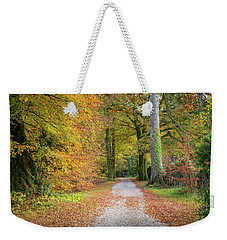 Autumnal Walkway Weekender Tote Bag