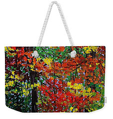 Autumn's Best Weekender Tote Bag