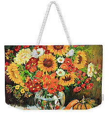 Autumn's Bounty Weekender Tote Bag