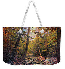 Autumn's Early Evening Weekender Tote Bag by John Rivera