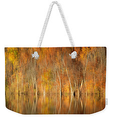 Autumns Final Palette Weekender Tote Bag by Everet Regal