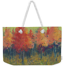 Autumn's Glow Weekender Tote Bag