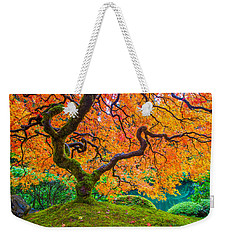 Autumn's Jewel Weekender Tote Bag by Patricia Davidson