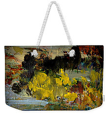 Autumn's Last Days Weekender Tote Bag by Nancy Kane Chapman
