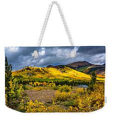 Autumn's Smile Weekender Tote Bag
