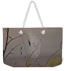Autumns Web Weekender Tote Bag by Susan Capuano