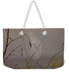 Autumns Web Weekender Tote Bag