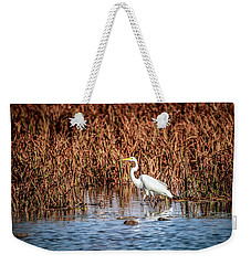 Autumn's Shore Weekender Tote Bag