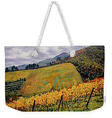 Weekender Tote Bag featuring the photograph Autunno Italiano by Jennie Breeze