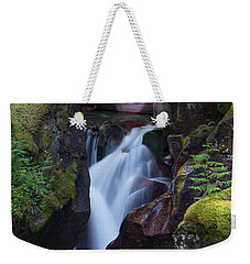 Weekender Tote Bag featuring the photograph Avalanche Gorge 3 by Gary Lengyel