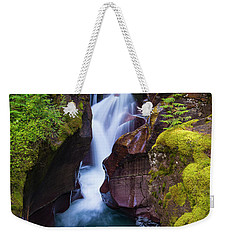 Weekender Tote Bag featuring the photograph Avalanche Gorge 4 by Gary Lengyel