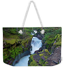 Weekender Tote Bag featuring the photograph Avalanche Gorge 7 by Gary Lengyel
