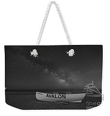 Avalon Milky Way Bw Weekender Tote Bag