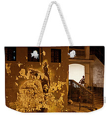Weekender Tote Bag featuring the photograph Avenue De Los Presidentes Havana Cuba by Charles Harden
